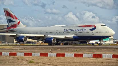 G-BNLP - British Airways Boeing 747-400