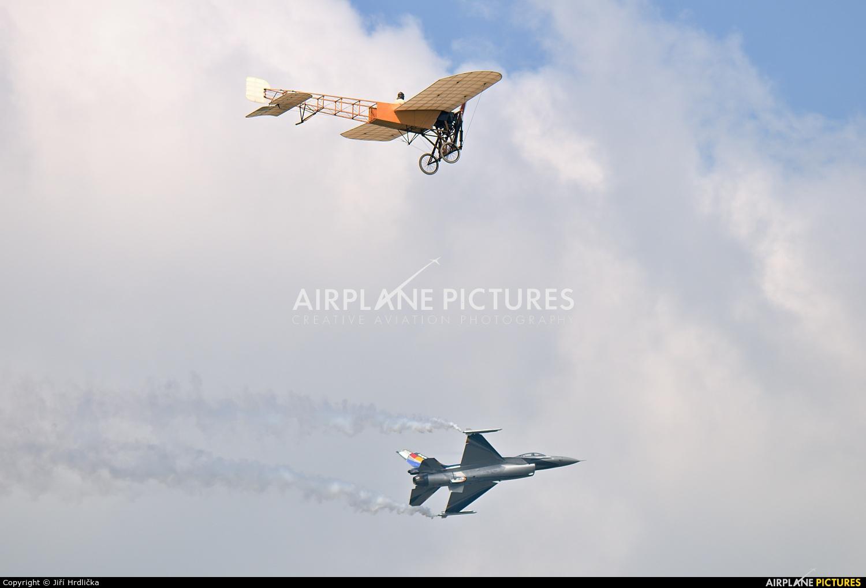 Belgium - Air Force FA-84 aircraft at Kleine Brogel