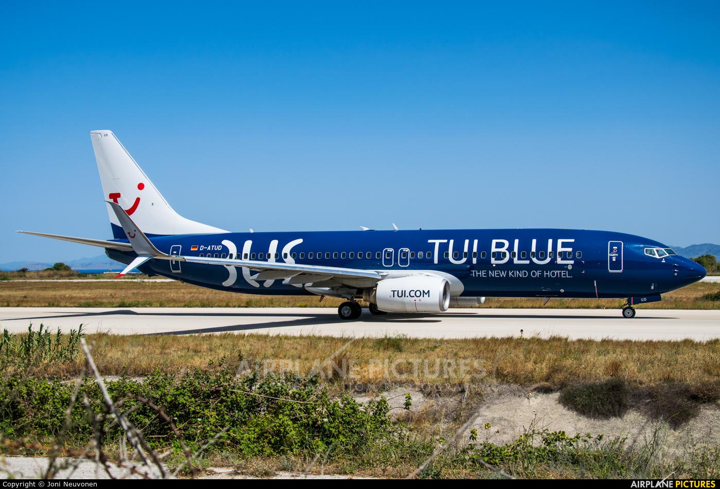 TUIfly D-ATUD aircraft at Rhodes - Diagoras