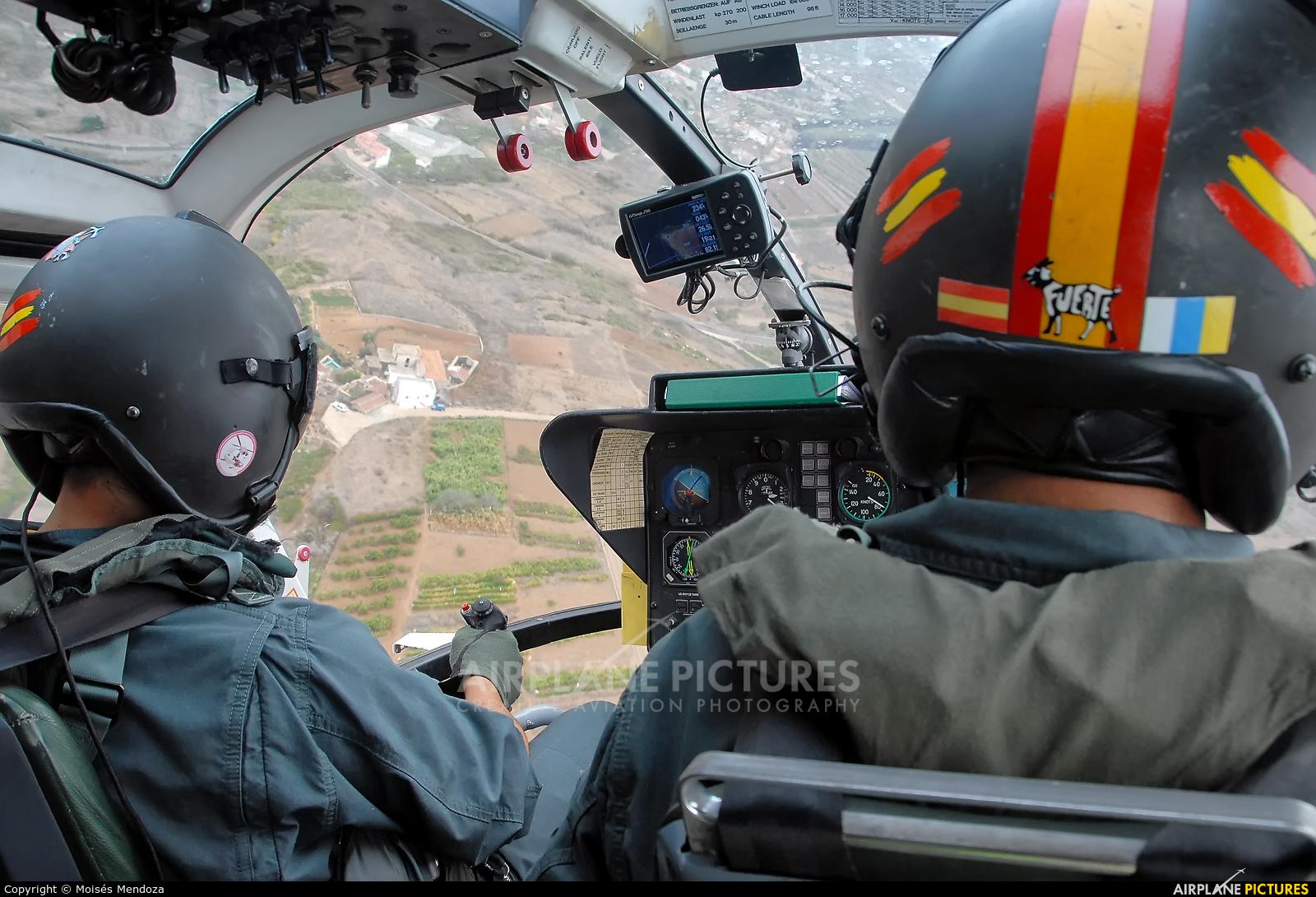 Spain - Guardia Civil HU.15-88 aircraft at In Flight - Spain