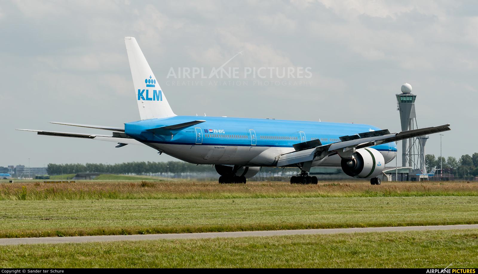 KLM PH-BVG aircraft at Amsterdam - Schiphol