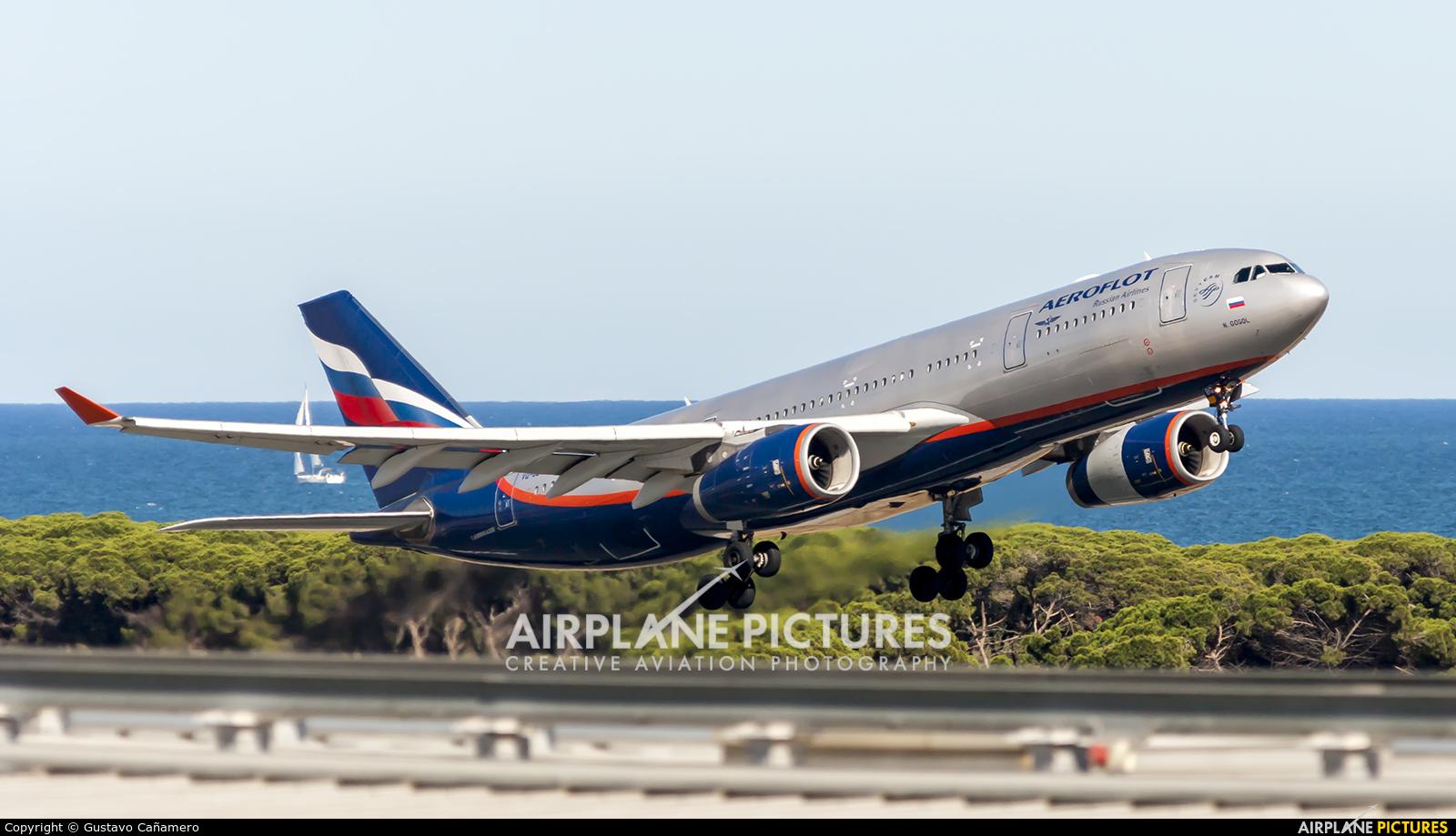 Aeroflot VQ-BBG aircraft at Barcelona - El Prat