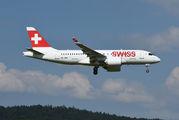 HB-JBA - Swiss Bombardier BD-500 C Series 100 aircraft