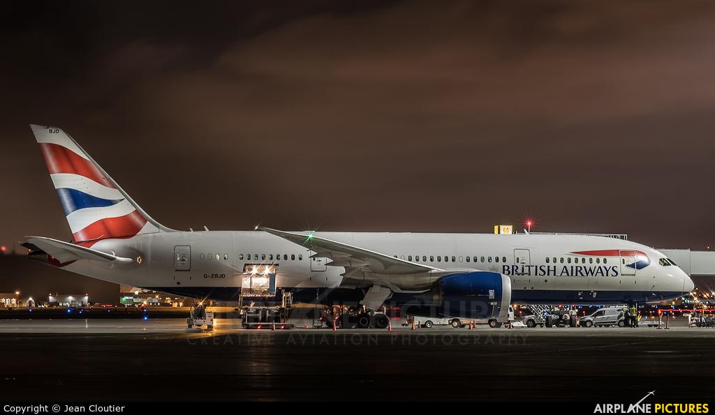 British Airways G-ZBJD aircraft at Montreal - Pierre Elliott Trudeau Intl, QC