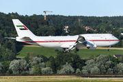A6-PFA - United Arab Emirates - Government Boeing 747-8 BBJ aircraft