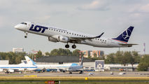 SP-LND - LOT - Polish Airlines Embraer ERJ-195 (190-200) aircraft