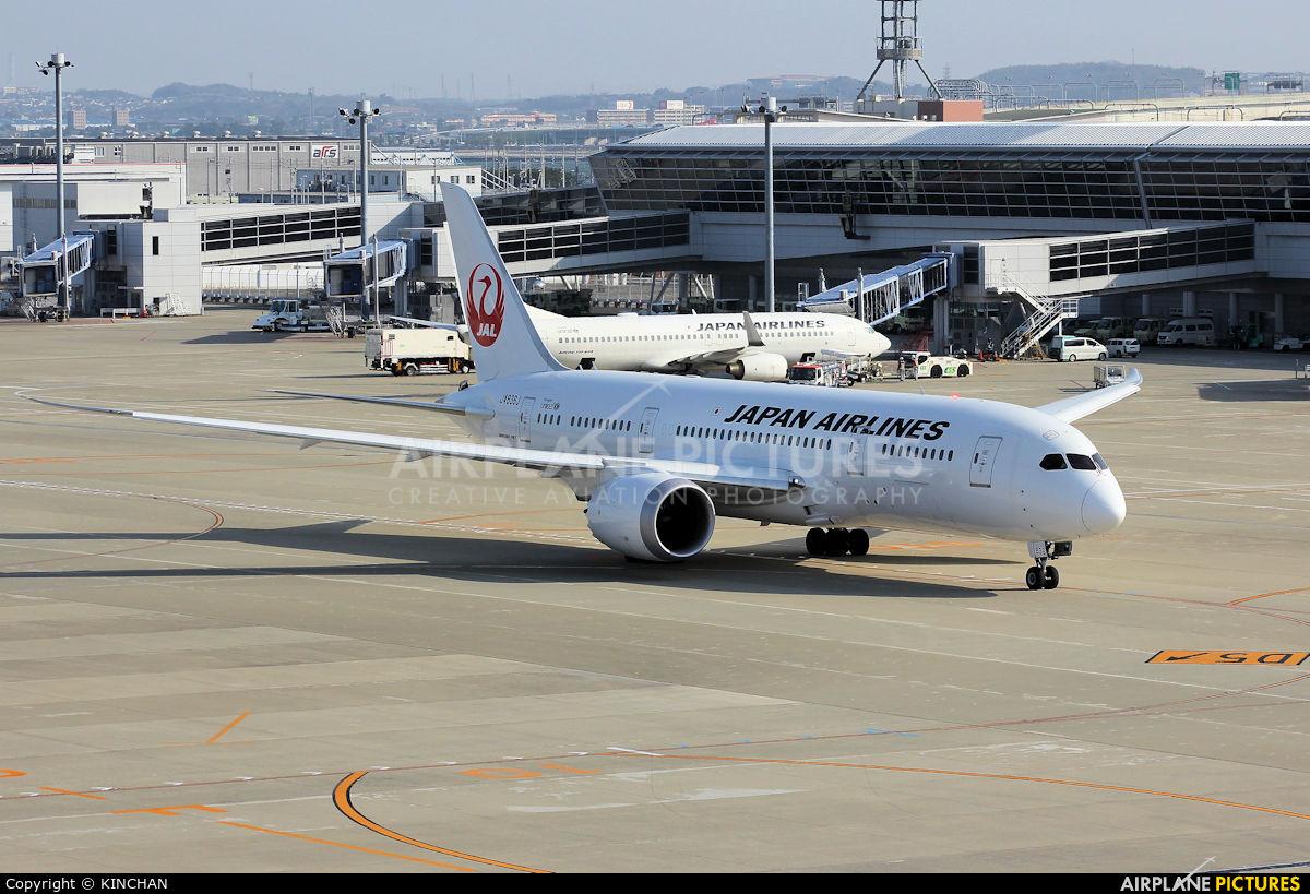 JAL - Japan Airlines JA836J aircraft at Chubu Centrair Intl