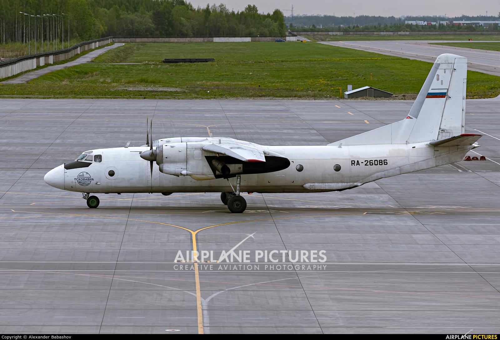 Pskovavia Antonov An-26 RA-26086
