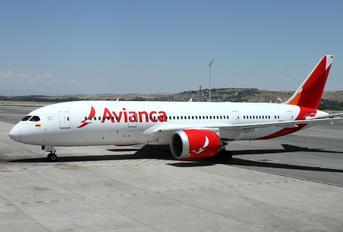 N781AV - Avianca Boeing 787-8 Dreamliner
