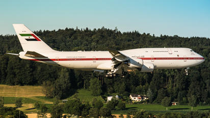 A6-PFA - United Arab Emirates - Government Boeing 747-8 BBJ