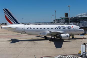 F-GPMD - Air France Airbus A319