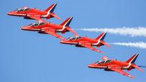 "XX323 - Royal Air Force ""Red Arrows"" British Aerospace Hawk T.1/ 1A aircraft"