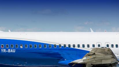 YR-BAU - Blue Air Boeing 737-400