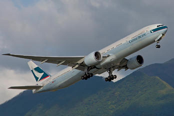 B-HNR - Cathay Pacific Boeing 777-300ER