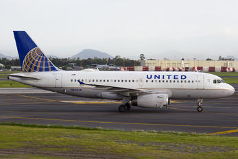 N814UA - United Airlines Airbus A319