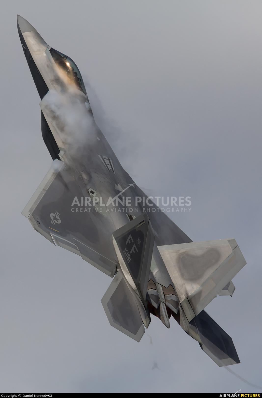 USA - Air Force 09-181 aircraft at Fairford