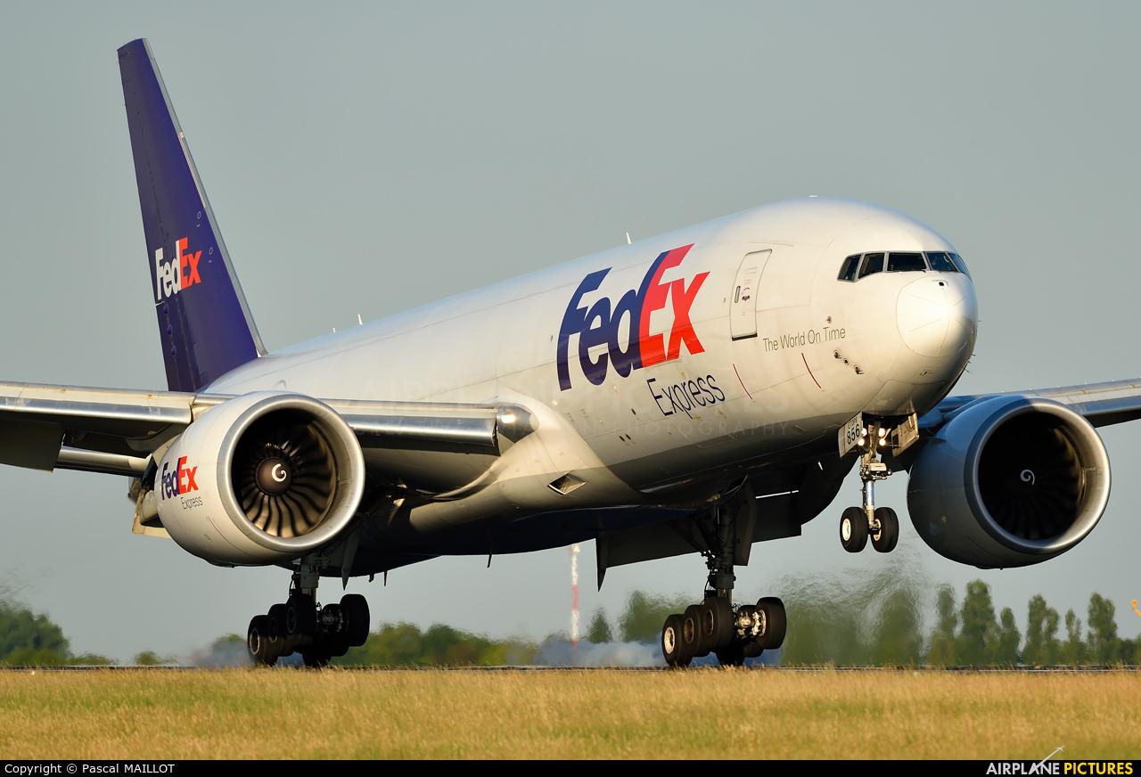 FedEx Federal Express N856FD aircraft at Paris - Charles de Gaulle