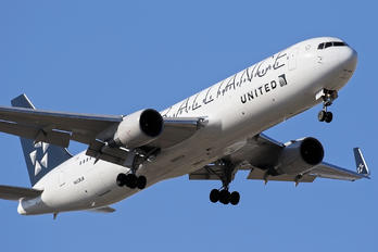 N653UA - United Airlines Boeing 767-300ER