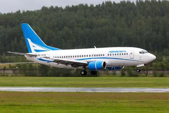 EK73736 - Armenian Airlines Boeing 737-500