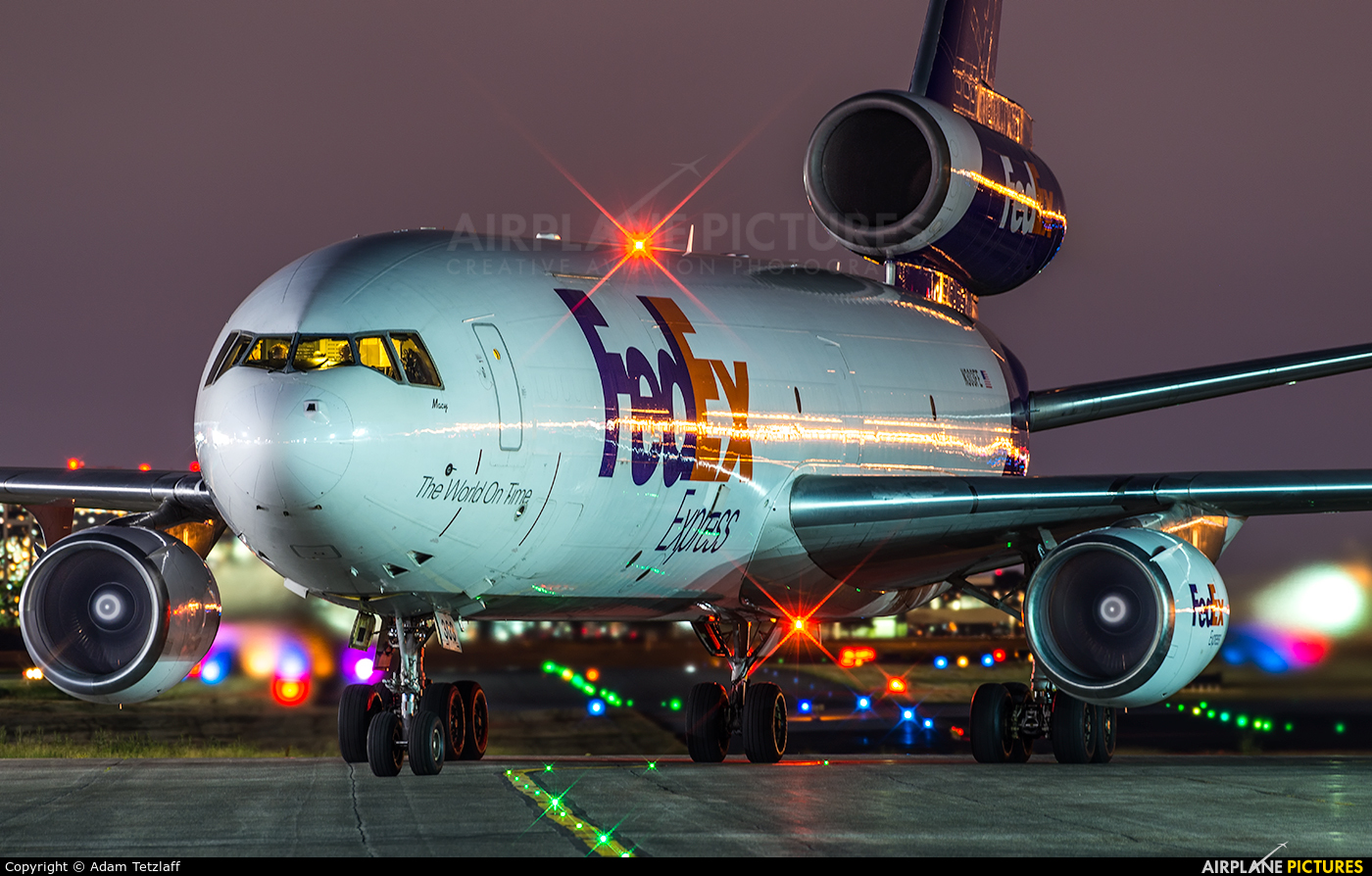 FedEx Federal Express N303FE aircraft at Toronto - Pearson Intl, ON