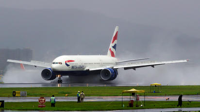 G-VIID - British Airways Boeing 777-200