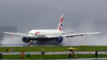 G-VIID - British Airways Boeing 777-200 aircraft