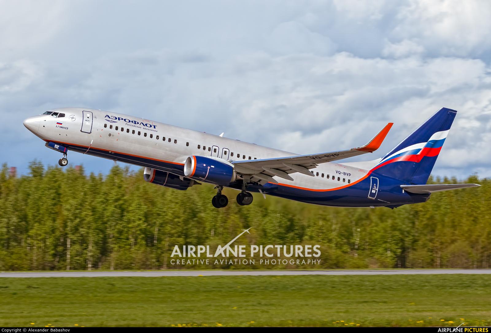 Aeroflot Boeing 737-800 VQ-BVP