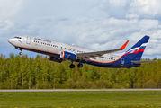 VQ-BVP - Aeroflot Boeing 737-800 aircraft