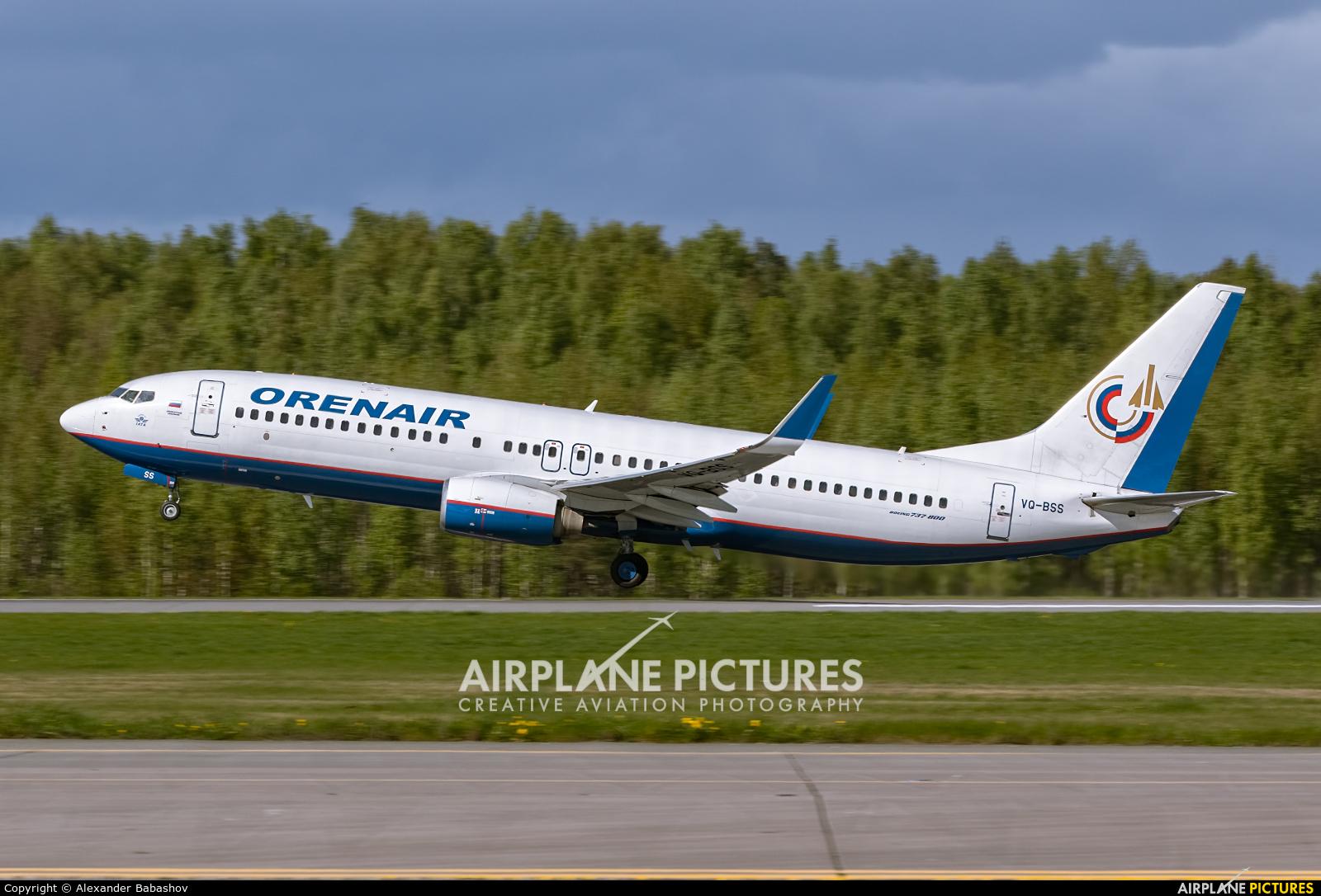 Orenair Boeing 737-800 VQ-BSS