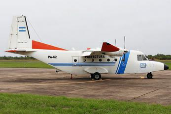 PA-62 - Argentina - Coast Guard Casa C-212 Aviocar