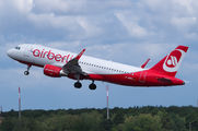 D-ABNX - Air Berlin Airbus A320 aircraft