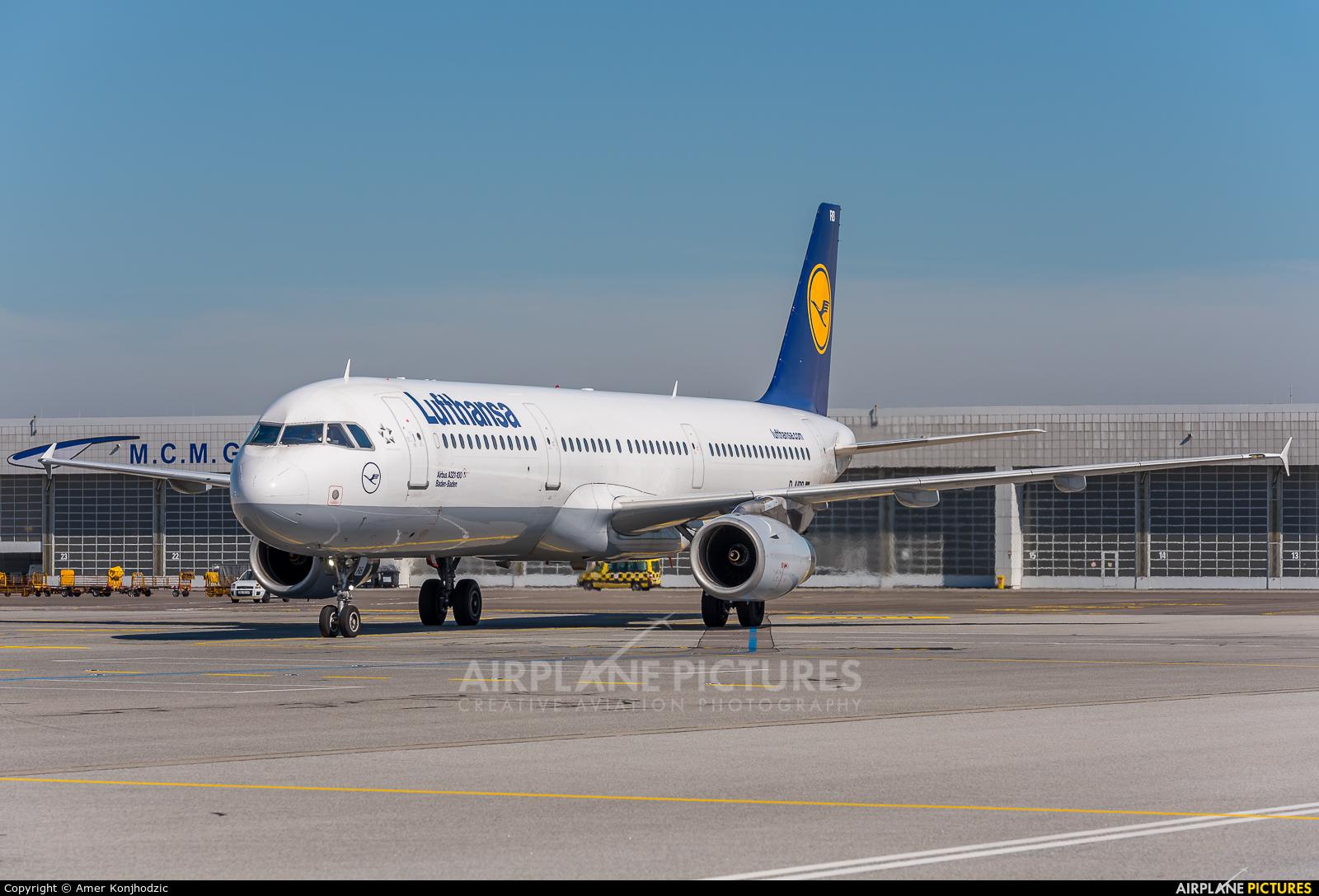 Lufthansa D-AIRB aircraft at Munich