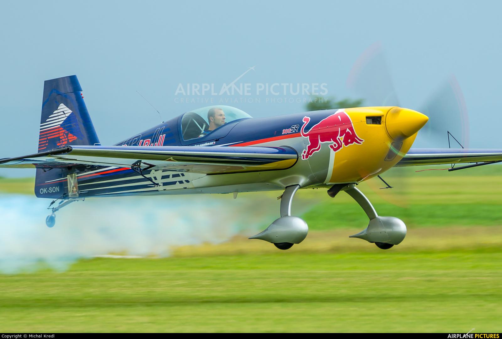 The Flying Bulls OK-SON aircraft at Chotěboř