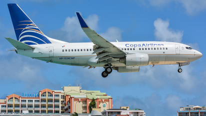 HP-1524CMP - Copa Airlines Boeing 737-700