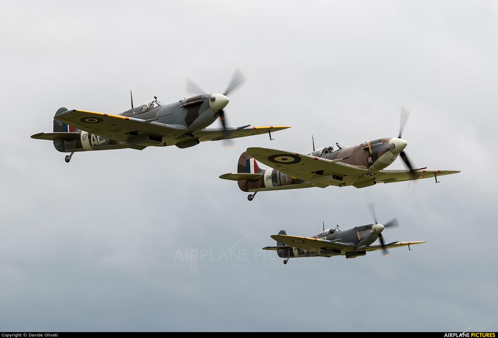 Patina G-LFVB aircraft at Duxford
