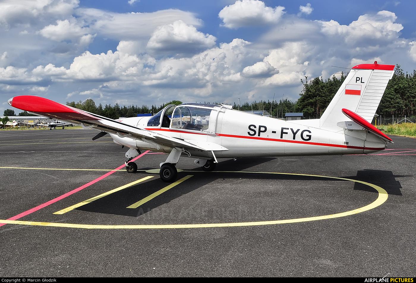 Aeroklub Podkarpacki SP-FYG aircraft at Mielec