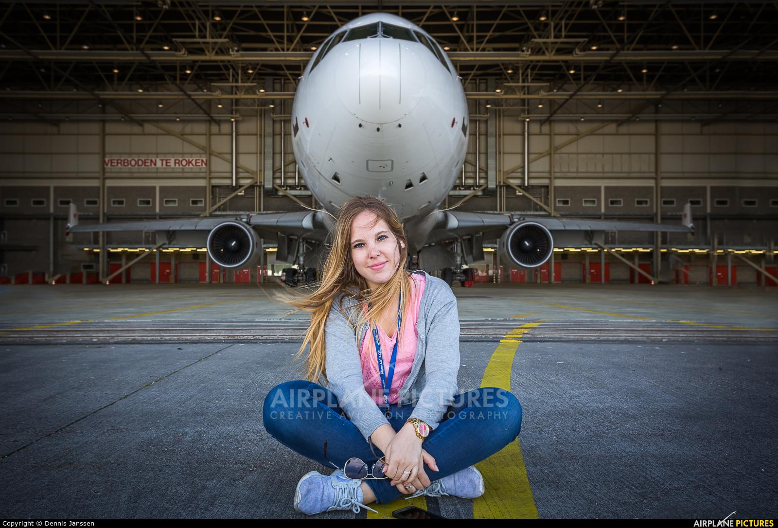 - Aviation Glamour PH-MCP aircraft at Amsterdam - Schiphol