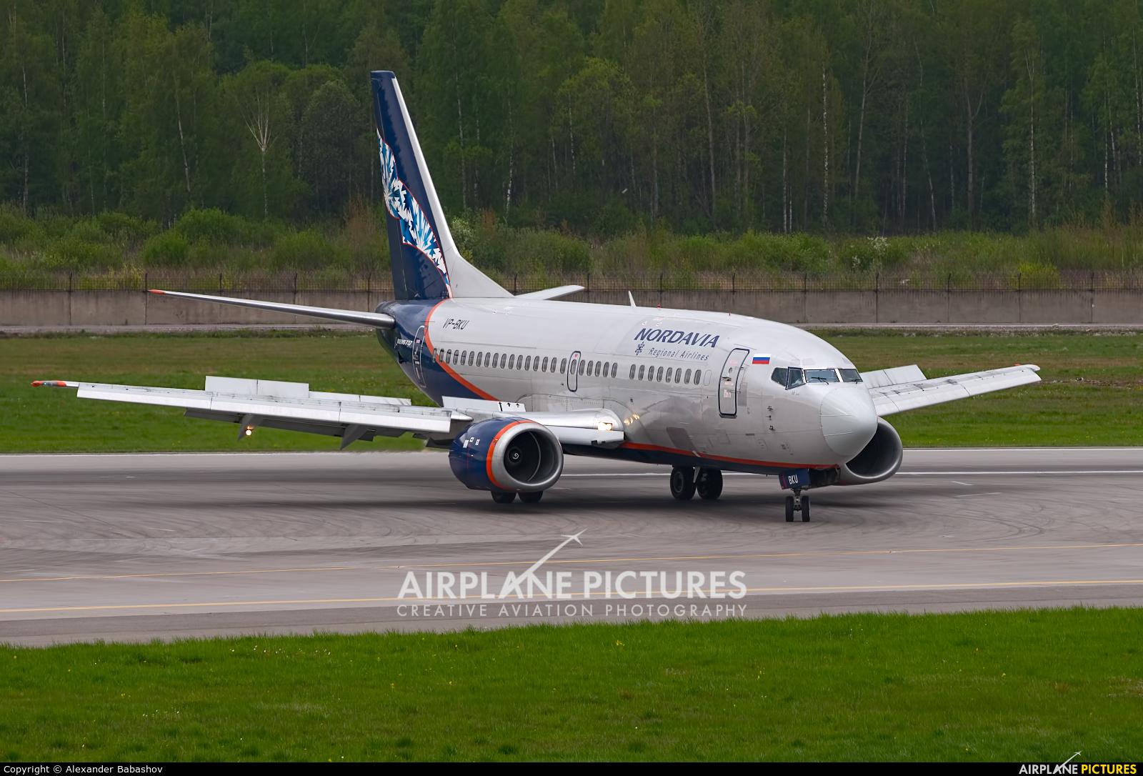 Nordavia Boeing 737-500 VP-BKU