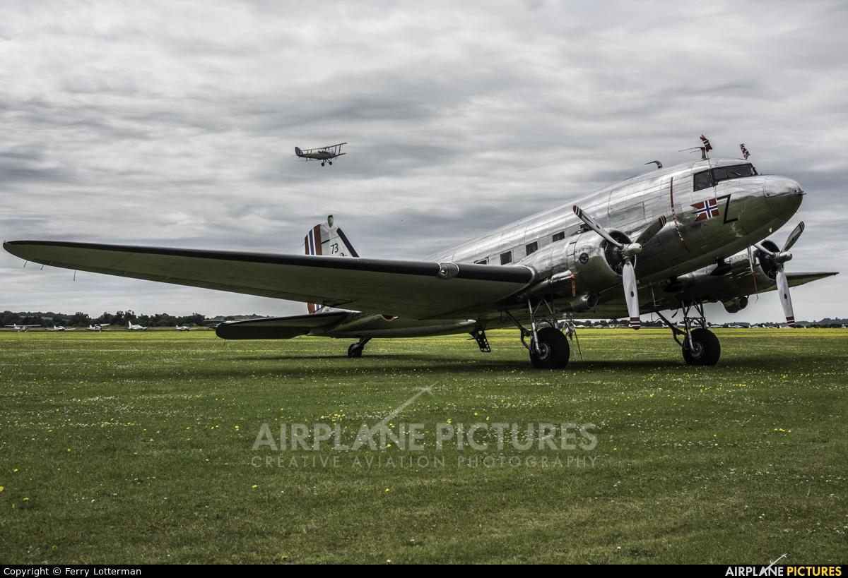 Dakota Norway LN-WND aircraft at Duxford