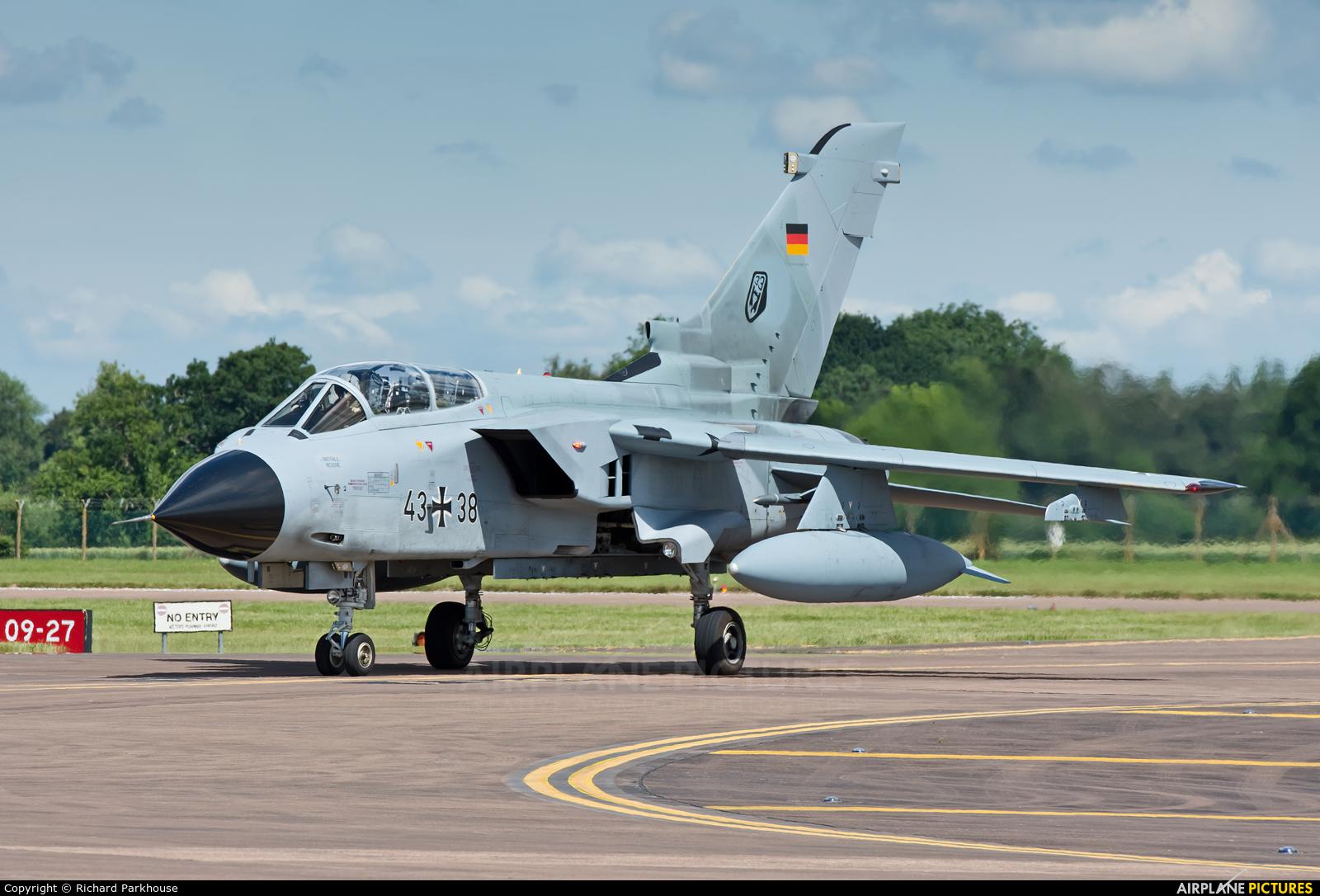 Germany - Air Force 43+38 aircraft at Fairford