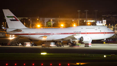 A6-PFA - United Arab Emirates - Government Boeing 747-8 BBJ