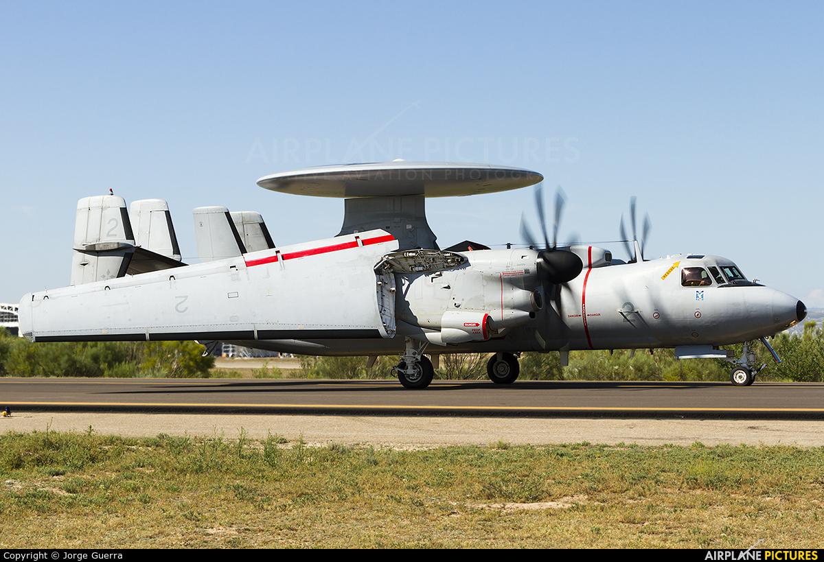 France - Navy 2 aircraft at Zaragoza