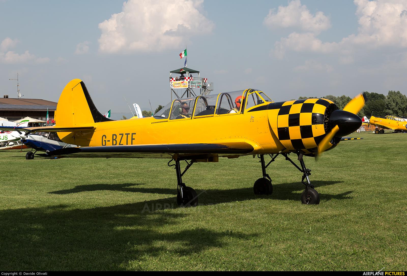 Private G-BZTF aircraft at Montagnana