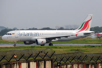 4R-ABK - SriLankan Airlines Airbus A320