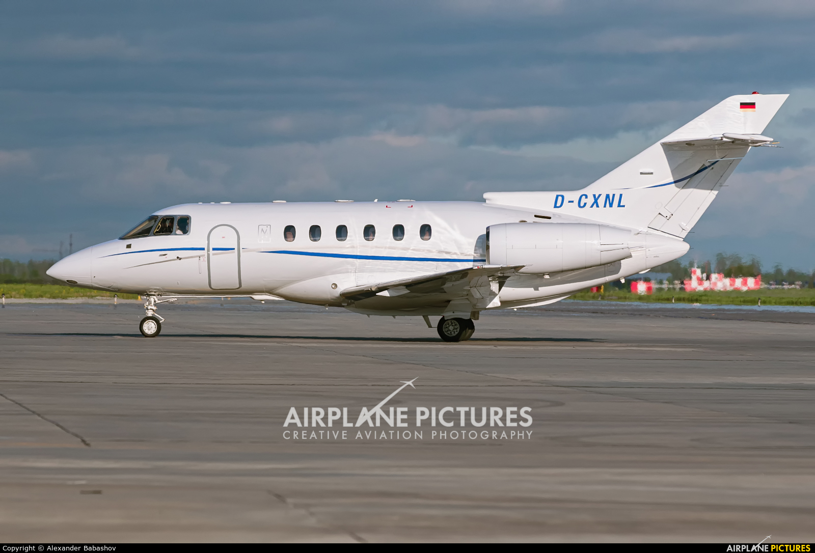 Private Raytheon Hawker 800XP D-CXNL
