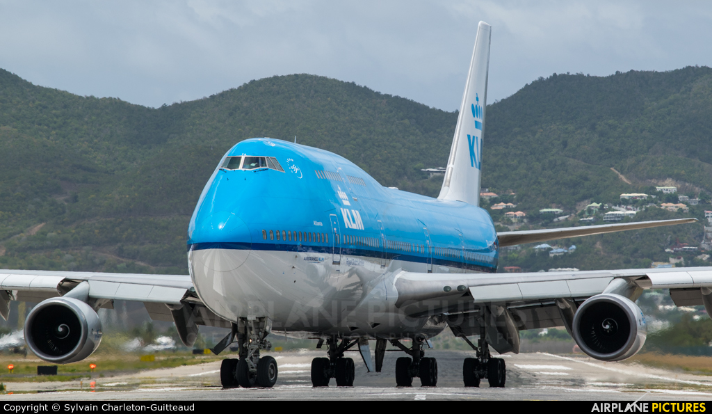 KLM PH-BFA aircraft at Sint Maarten - Princess Juliana Intl