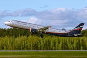VP-BDC - Aeroflot Airbus A320 aircraft