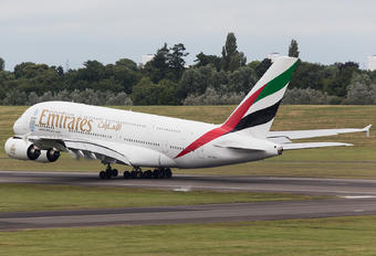 A6-EOX - Emirates Airlines Airbus A380