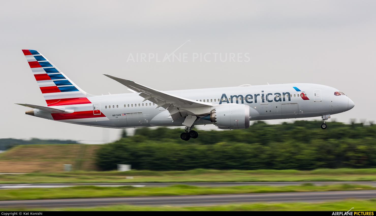 N813an American Airlines Boeing 787 8 Dreamliner At