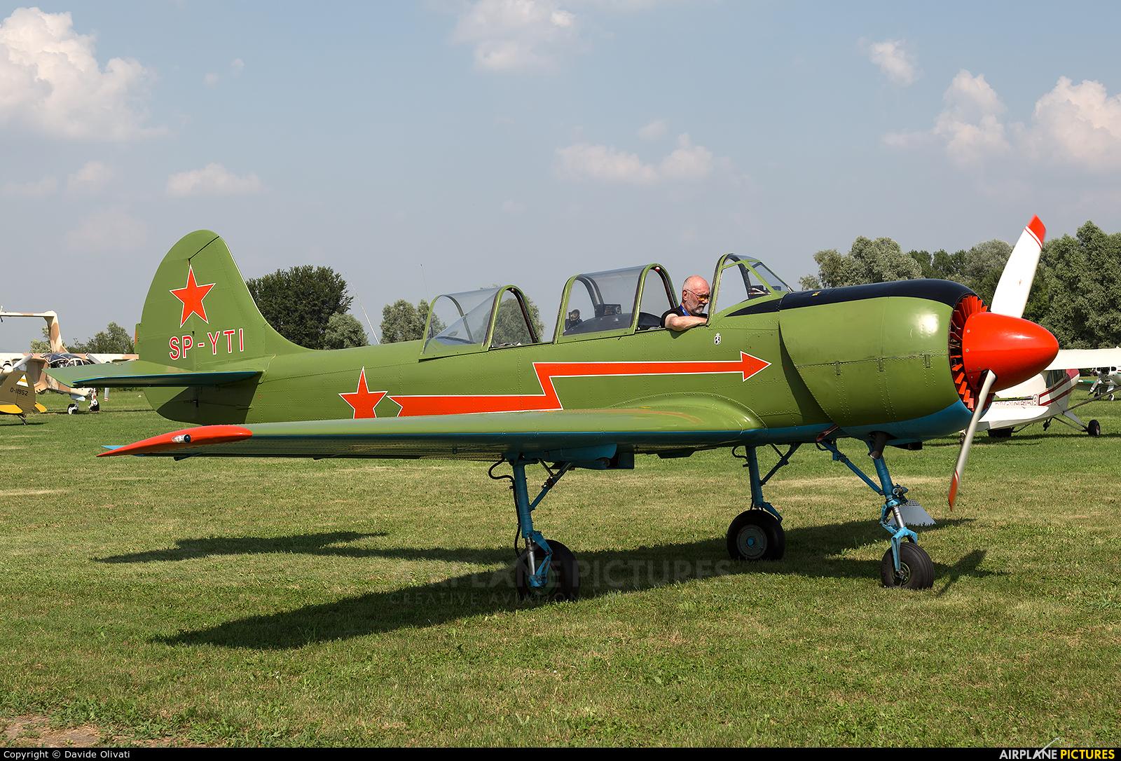 Private SP-YTI aircraft at Montagnana